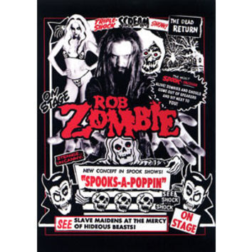 Rob Zombie Post Card