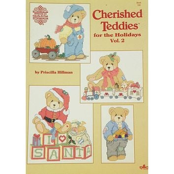Cherished Teddies for the Holidays - Counted Cross Stitch Leaflet