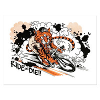 Ride Or Die Art Print (Limited Edition)