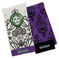 Disney Parks The Haunted Mansion Dish Towel Set New with Tags