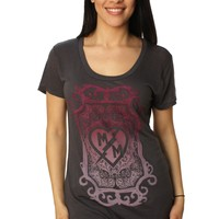 Metal Mulisha Women's Poison Scoop Graphic T-Shirt