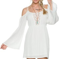 ELEMENT LULU COLD SHOULDER DRESS