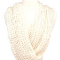 Chunky Sequin Infinity Scarf: Charlotte Russe