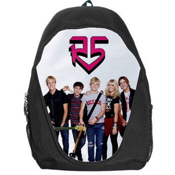 Ross Riker Rocky Lynch R5 Band School Bag Backpack Bag B