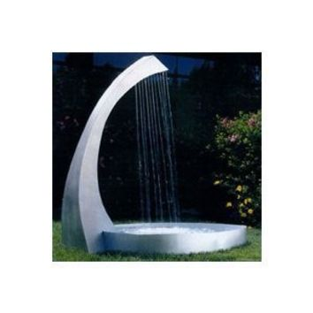 Nayer Kazemi Water Harp Floor Fountain