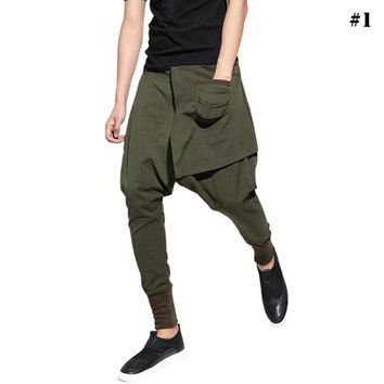 STREET BIG Drop Hip Pop Pants Women Loose Jogger Harem Pants Baggy Trousers