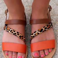 Kissed by the Sun Sandal
