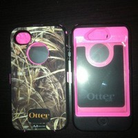 Otterbox Defender Series Case Pink/Camo Iphone 4/4S New- FREE SHIPPING!!!