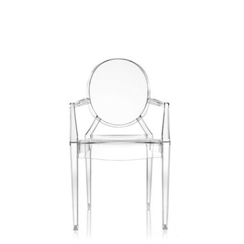Philippe Starck Louis Ghost Chair, Set of 4