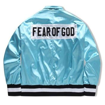 Fear of God bomber jackets men winter baseball trench pilot coats windbreaker parka military tactical army hunting clothes hip hop outdoor