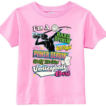 Lil Shirts Volleyball Girl Youth Shirt