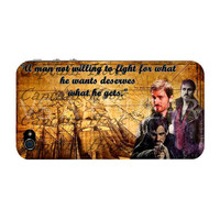Once Upon A Time I Phone 4 Case Cover - Captain Hook-Killian Jones-JollyRoger