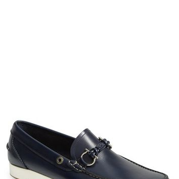Men's Salvatore Ferragamo 'Nidal' Boat Shoe