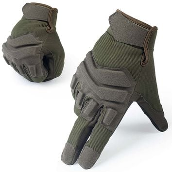Black hawk Tactical Gloves Military Airsoft Paintball Armed Shooting Bicycle Gear Full Finger Gloves For Men Women