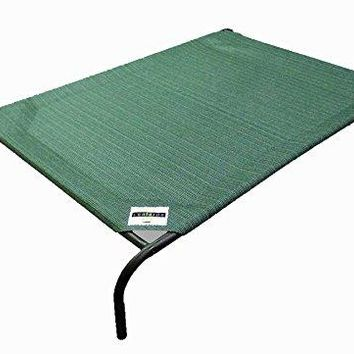 Elevated Pet Bed with Knitted Fabric