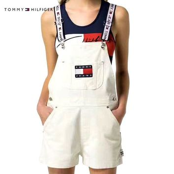 Tommy Jeans '90s Shortall Overall | Urban Outfitters H-YF-MLBKS
