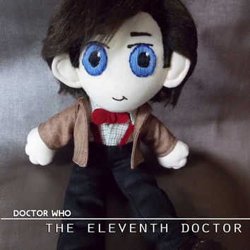 Doctor Who Eleventh Doctor Plush Doll Plushie Toy Ragdoll Matt Smith