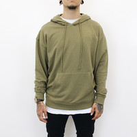 More Parties In LA Hoodie (Olive Green)