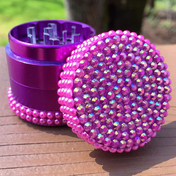 Grinder -- MINIS -- Iridescent Pink/Pearl
