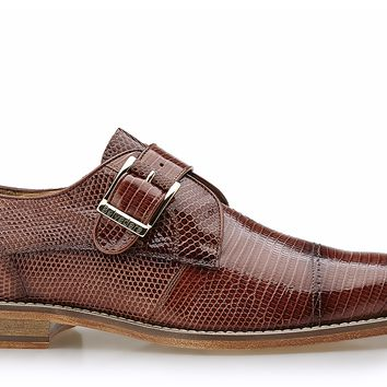 Otto Genuine Lizard Monk Strap Dress Shoe