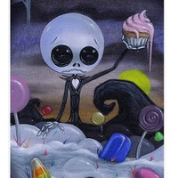 Nightmare in Candyland Fine Art Print by Lowbrow Art Company