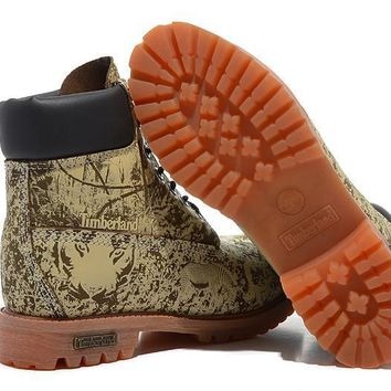 Timberland Icon 6-inch Premium Classic Zoo Green Waterproof Boots