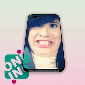 Funny Demi Lovato iPhone Case Cover | iPhone 4s | iPhone 5s | iPhone 5c | iPhone 6 | iPhone 6 Plus | Samsung Galaxy S3 | Samsung Galaxy S4 | Samsung Galaxy S5