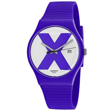 Swatch Men's XX-rated Watch (SUOV401)