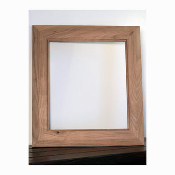 Unfinished Butternut Mirror Frame/Picture Frame
