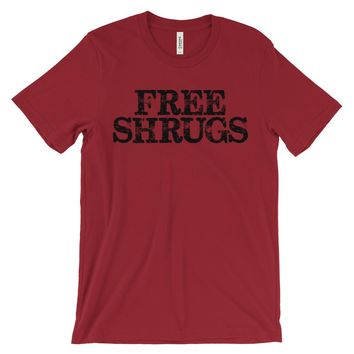 Free Shrugs - Men's Hipster T-Shirt