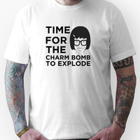 Time For The Charm Bomb To Explode - Tina Bob's Burgers Unisex T-Shirt