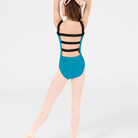 Free Shipping - Adult Two-Tone Tank Leotard by NATALIE