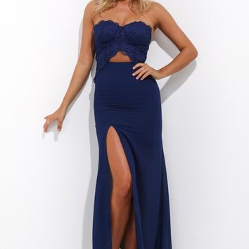 Celebration Day Maxi Dress Navy