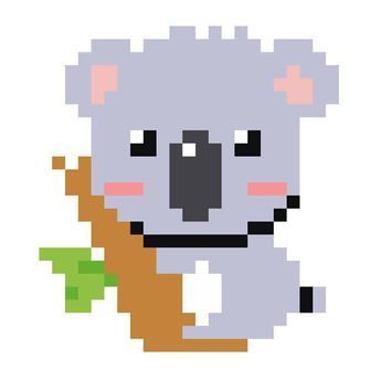 Beginner Koala Cross Stitch Pattern