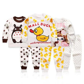 NEW 2018 boys nightwear girls family christmas pajamas cartoon kids pajama sets,children sleepwear toddler baby pyjamas 1t-5t