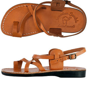 Womens Jerusalem Sandal with Straps