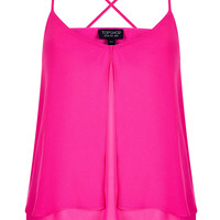 Double Layer Cami - Cami's & Vest Tops - Tops - Clothing - Topshop