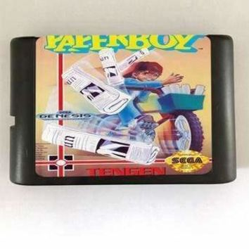Paper Boy - 16 bit MD Games Cartridge For MegaDrive Genesis console