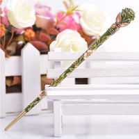 Vintage Women Charm Hair Stick Pin Handmade Retro Rhinestone Bobby Pin Hairpins