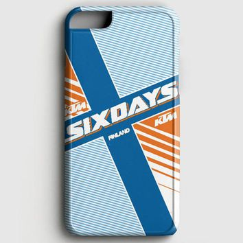 Ktm Motorcycle Six Days Finland Mx iPhone 6 Plus/6S Plus Case | casescraft