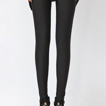 Solid Color Basic Leggings