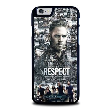 FAST FURIOUS 7 PAUL WALKER iPhone 6 / 6S Case Cover