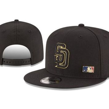 New Arrival New Era Black Cap MLB Baseball Fitted Hat-15