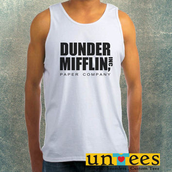 Dunder Mifflin Paper Company Clothing Tank Top For Mens