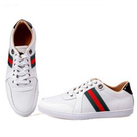 Gucci Man Fashion Edgy Strappy Sports Shoes Sneakers