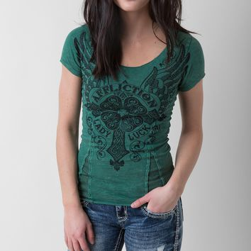 Affliction Lady Luck Top