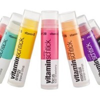 6-Pack: Vitamin Schtick SPF 20 Lip Balm Assorted Flavors LIMITED EDITION