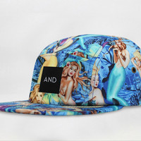 ANDCLOTHING — Mermaid AND 5 Panel Cap
