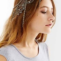 Dripping Chains Jeweled Goddess Chain Headwrap- Gold One