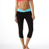 Aerie Slim Gym Yoga Crossover Skinny Crop Pant | Aerie for American Eagle